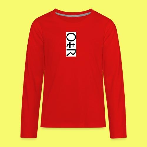 OntheReal kiddos - Kids' Premium Long Sleeve T-Shirt