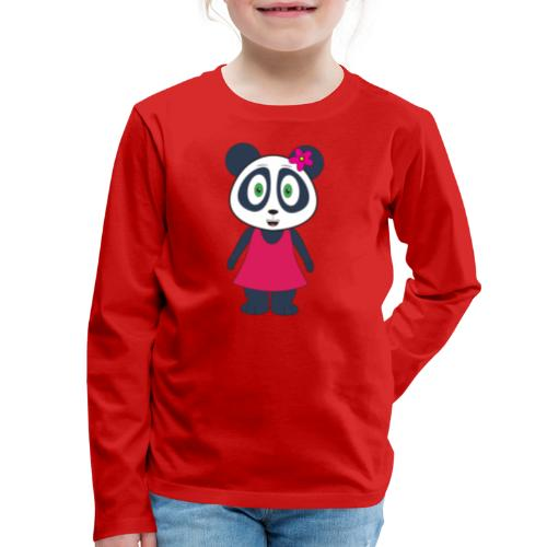 KuangPanda - Happy - Kids' Premium Long Sleeve T-Shirt