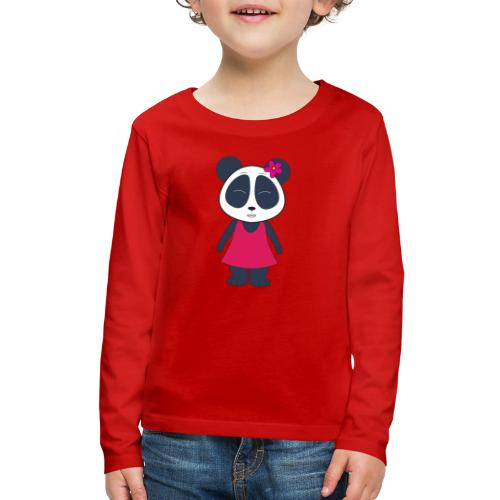 KuangPanda - Cute Smile - Kids' Premium Long Sleeve T-Shirt