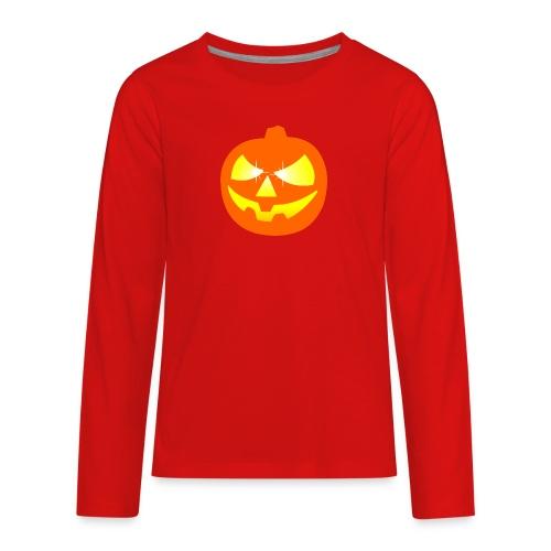 halloween pumpkin - Kids' Premium Long Sleeve T-Shirt