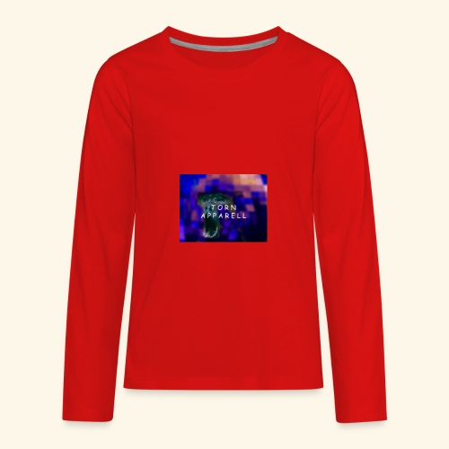 Torn Apparell Chris Edition - Kids' Premium Long Sleeve T-Shirt