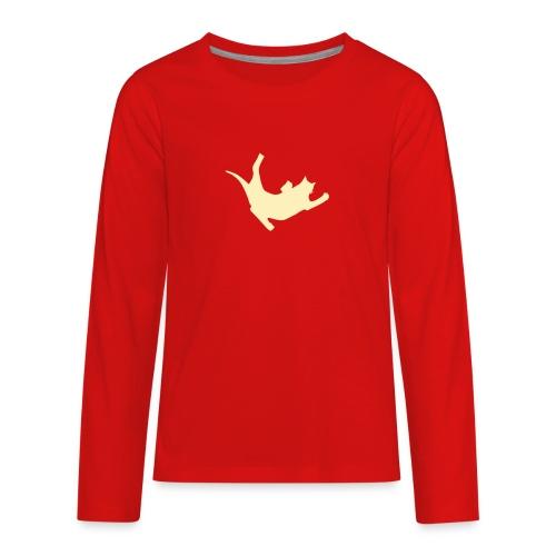 Fly Cat - Kids' Premium Long Sleeve T-Shirt