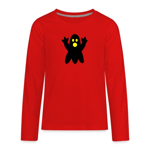spooky halloween ghost - Kids' Premium Long Sleeve T-Shirt