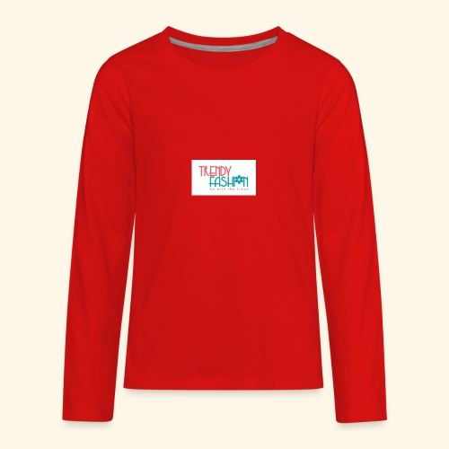 Trendy Fashions Go with The Trend @ Trendyz Shop - Kids' Premium Long Sleeve T-Shirt