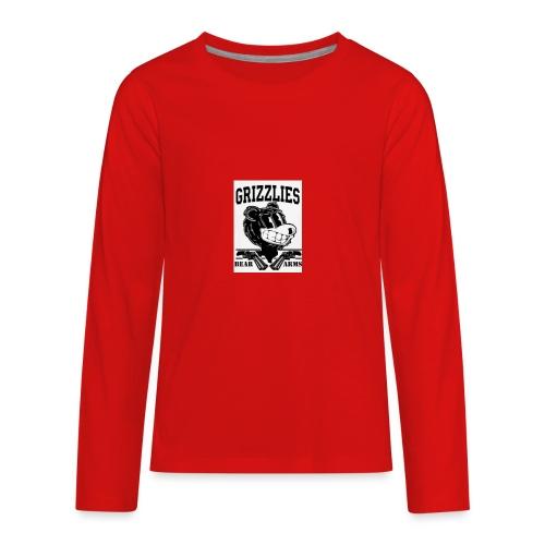 beararms - Kids' Premium Long Sleeve T-Shirt