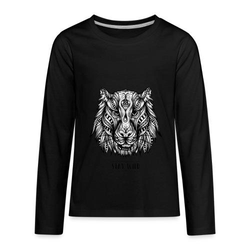 Stay Wild - Kids' Premium Long Sleeve T-Shirt
