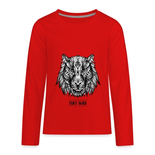 Stay Wild - Kids' Premium Long Sleeve T-Shirt