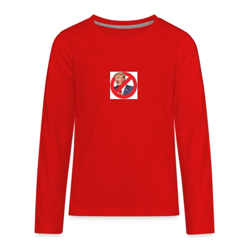 blog stop trump - Kids' Premium Long Sleeve T-Shirt