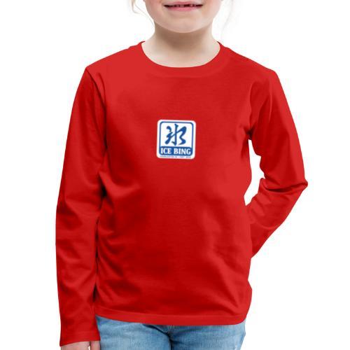 ICEBING003 - Kids' Premium Long Sleeve T-Shirt