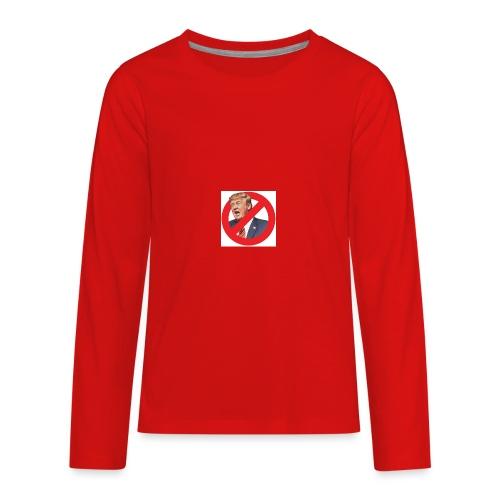 blog stop trump - Kids' Premium Long Sleeve T-Shirt
