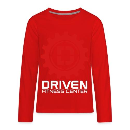 Stacked Logo - Kids' Premium Long Sleeve T-Shirt