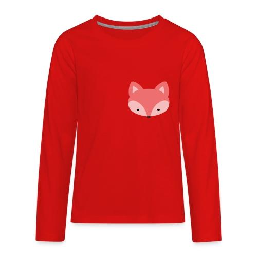 Fox Gift Logo - Kids' Premium Long Sleeve T-Shirt