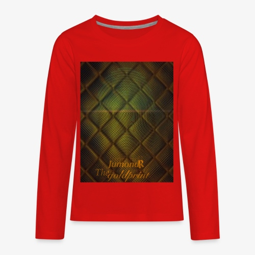 JumondR The goldprint - Kids' Premium Long Sleeve T-Shirt