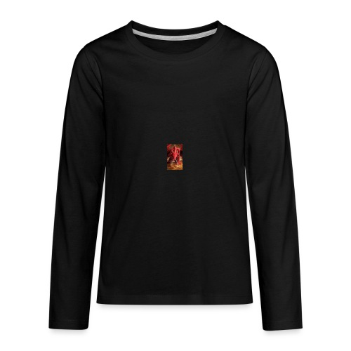 Dragon anger - Kids' Premium Long Sleeve T-Shirt