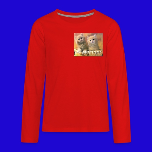 Cute Cats - Kids' Premium Long Sleeve T-Shirt