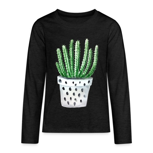 Cactus - Kids' Premium Long Sleeve T-Shirt