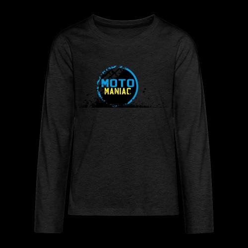 MotoManiac's tracks - Kids' Premium Long Sleeve T-Shirt