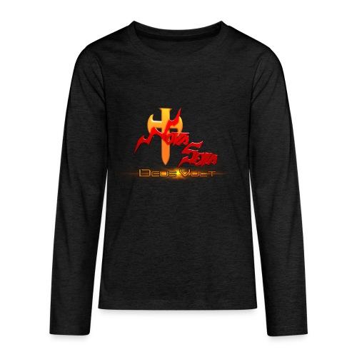 Nova Sera Logo - Kids' Premium Long Sleeve T-Shirt