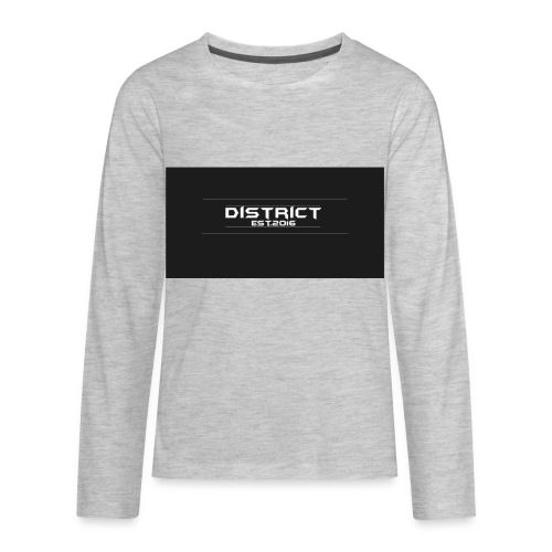 District apparel - Kids' Premium Long Sleeve T-Shirt