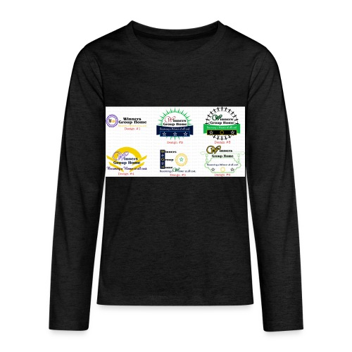 Winners Group Home - Kids' Premium Long Sleeve T-Shirt