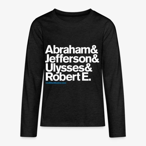 Civil War Leaders - Kids' Premium Long Sleeve T-Shirt