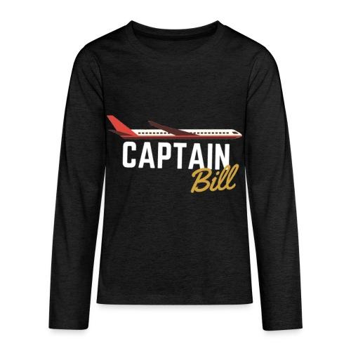 Captain Bill Avaition products - Kids' Premium Long Sleeve T-Shirt