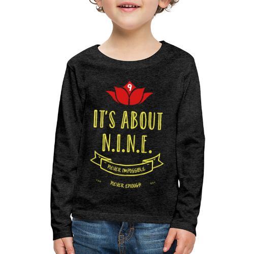 Design loto New - Kids' Premium Long Sleeve T-Shirt