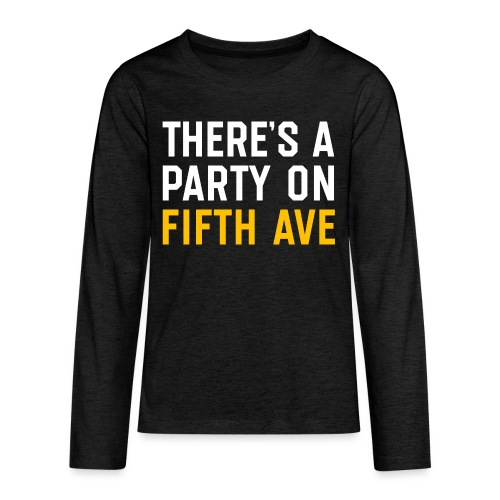 There's a Party on Fifth Ave - Kids' Premium Long Sleeve T-Shirt
