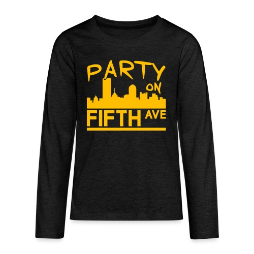 Party on Fifth Ave - Kids' Premium Long Sleeve T-Shirt