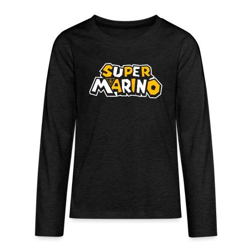 Super Marino - Kids' Premium Long Sleeve T-Shirt