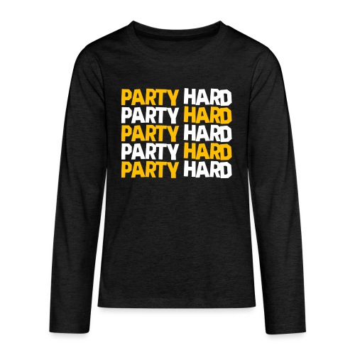 Party Hard - Kids' Premium Long Sleeve T-Shirt