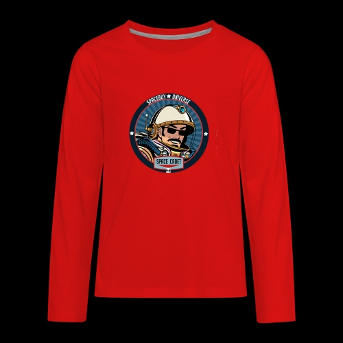 Spaceboy - Space Cadet Badge - Kids' Premium Long Sleeve T-Shirt