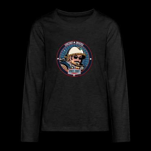 Spaceboy - Space Cadet Badge - Kids' Premium Long Sleeve T-Shirt