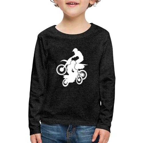 Motocross Dirt Bikes Off-road Motorcycle Racing - Kids' Premium Long Sleeve T-Shirt
