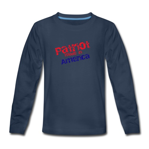 Patriot mug - Kids' Premium Long Sleeve T-Shirt