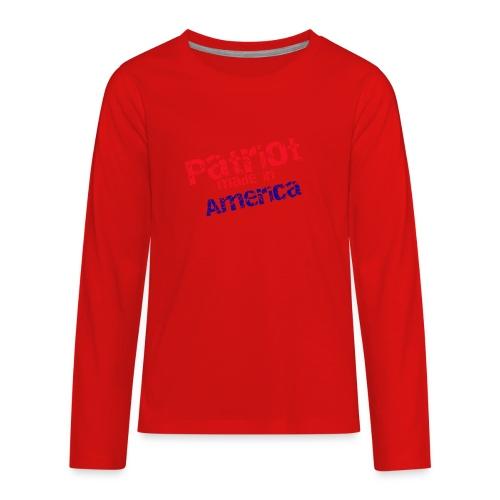 Patriot mug - Kids' Premium Long Sleeve T-Shirt