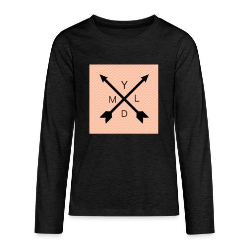 Ydlm Ambroid logo - Kids' Premium Long Sleeve T-Shirt