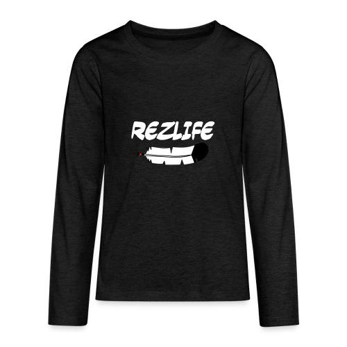 Rez Life - Kids' Premium Long Sleeve T-Shirt