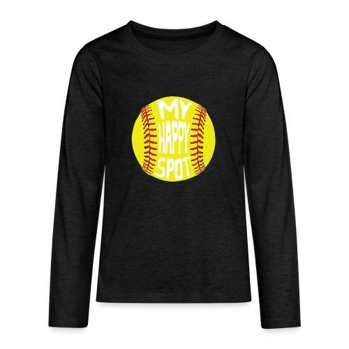 People s Republic of Burlington Softball - Kids' Premium Long Sleeve T-Shirt
