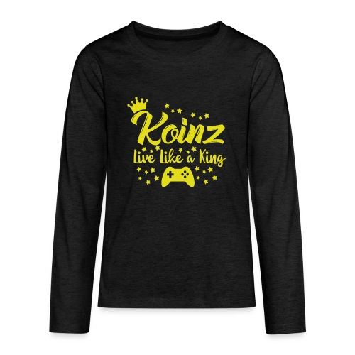 Live Like A King - Kids' Premium Long Sleeve T-Shirt