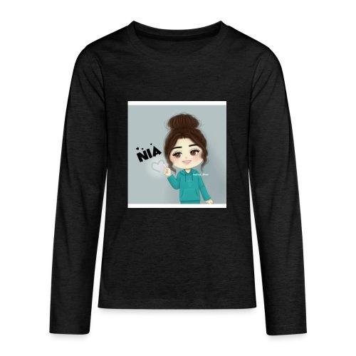 NIA FAMILY - Kids' Premium Long Sleeve T-Shirt