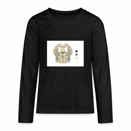 CREST HOODIE - Kids' Premium Long Sleeve T-Shirt