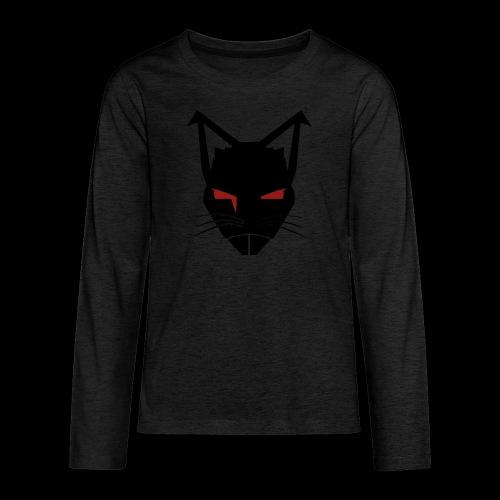 RatCrusher (BLACK) - Kids' Premium Long Sleeve T-Shirt