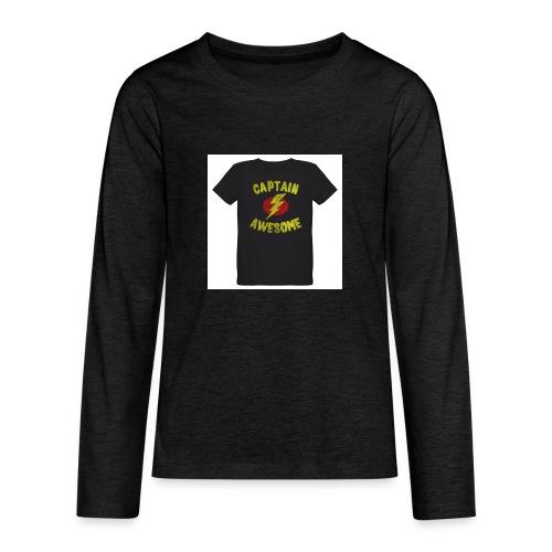 Captain awesome - Kids' Premium Long Sleeve T-Shirt