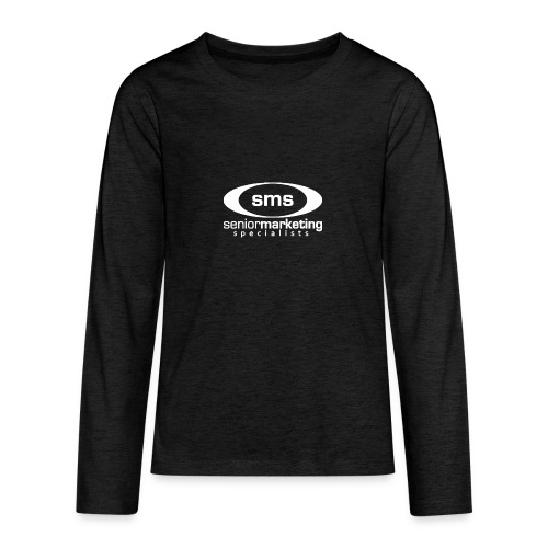 SMS White Logo - Kids' Premium Long Sleeve T-Shirt