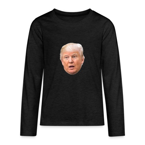 I will build a wall - Kids' Premium Long Sleeve T-Shirt