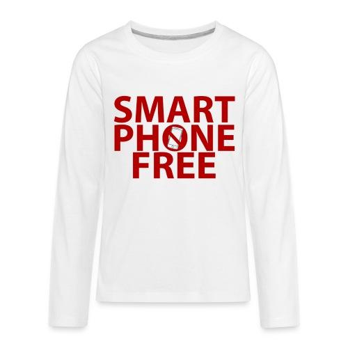 SMART PHONE FREE - Kids' Premium Long Sleeve T-Shirt