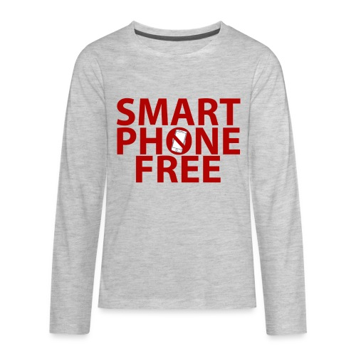 SMART PHONE FREE - Kids' Premium Long Sleeve T-Shirt