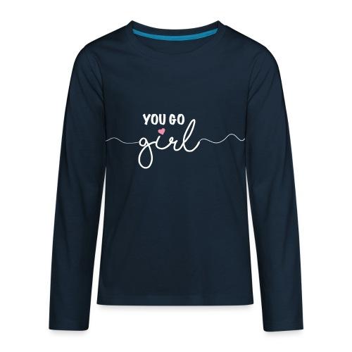 Girl Power - Kids' Premium Long Sleeve T-Shirt