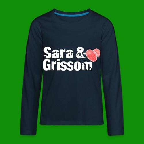 SARA & GRISSOM - Kids' Premium Long Sleeve T-Shirt